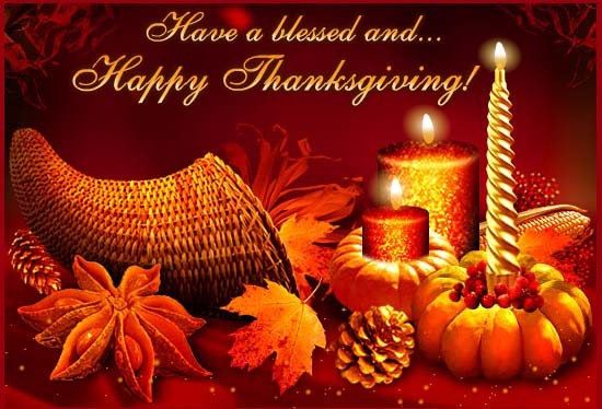 Thanksgiving Day Greetings 2016