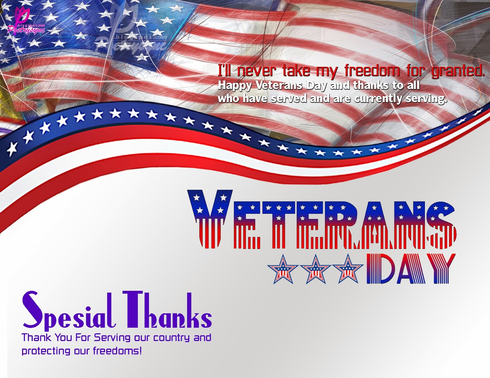 Veterans Day Greetings 2016
